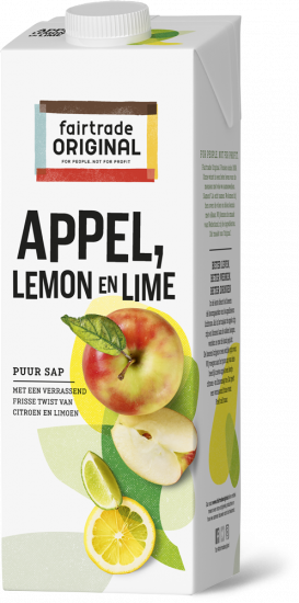 appelsap lemon lime