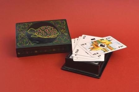 kaartspel in doos