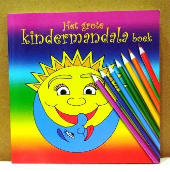 kleurboek - kindermandala