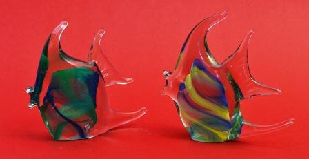 recycled glas vissen