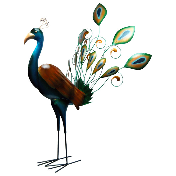 vogel metaal pauw